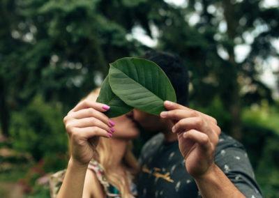 Love Story в ботаническом саду