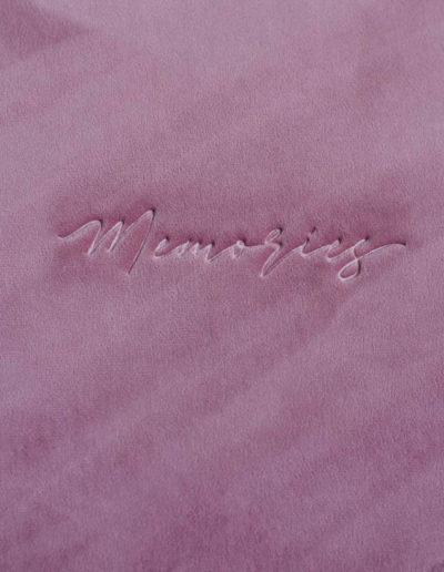 Тиснение Memories фото