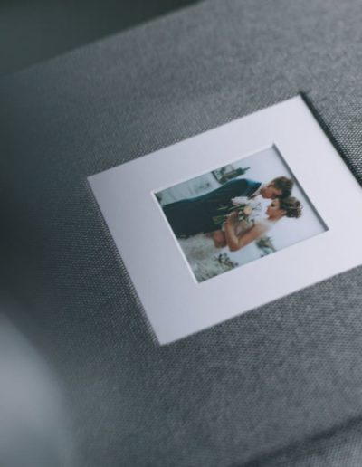Фотовставка с белым паспарту