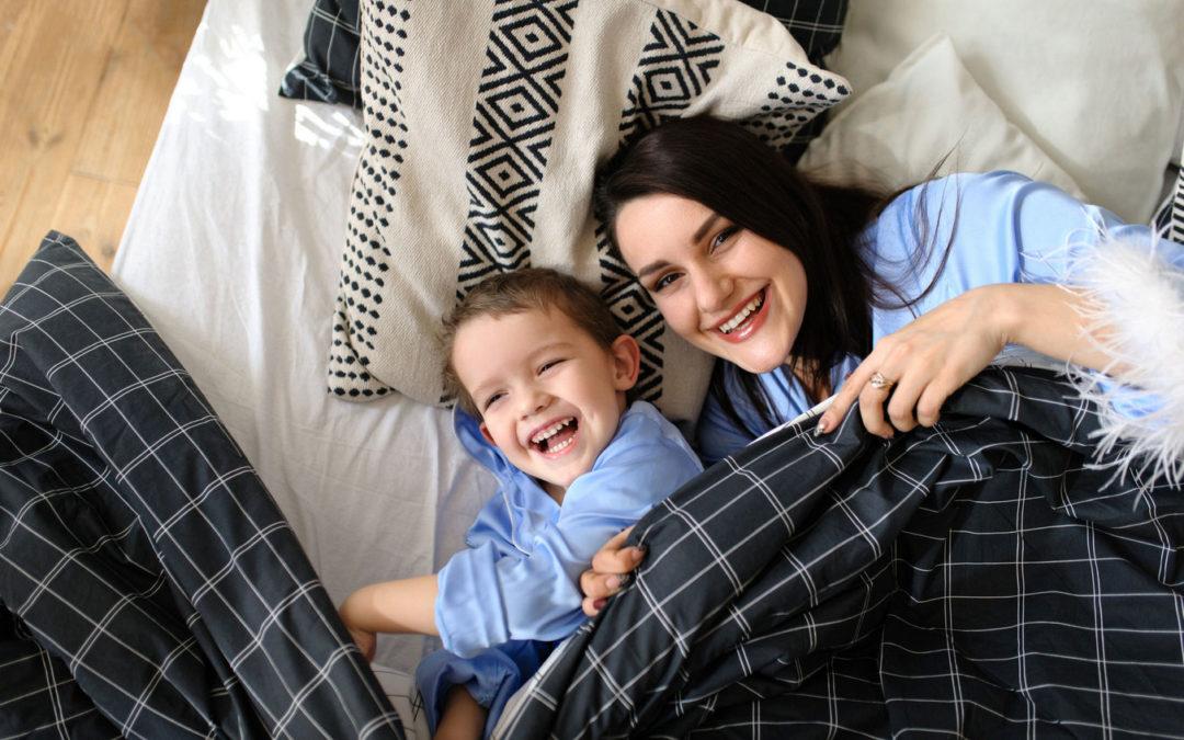 Семейная фотосессия Мама и Сын