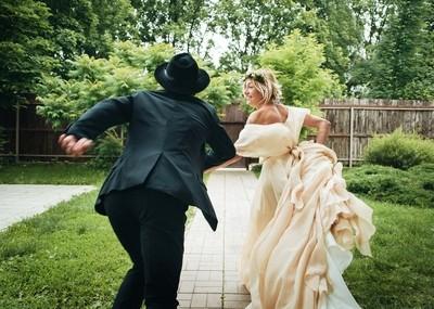 Свадебное Love Story и фотосессия на холмах