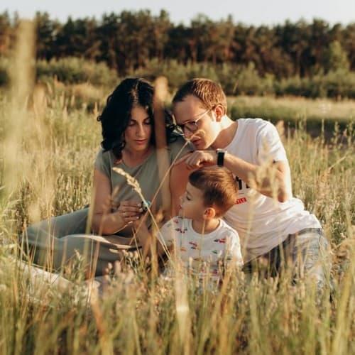 Подготовка к семейной съёмке